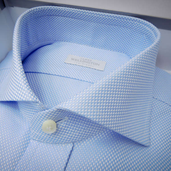 James Wellington bespoke shirt