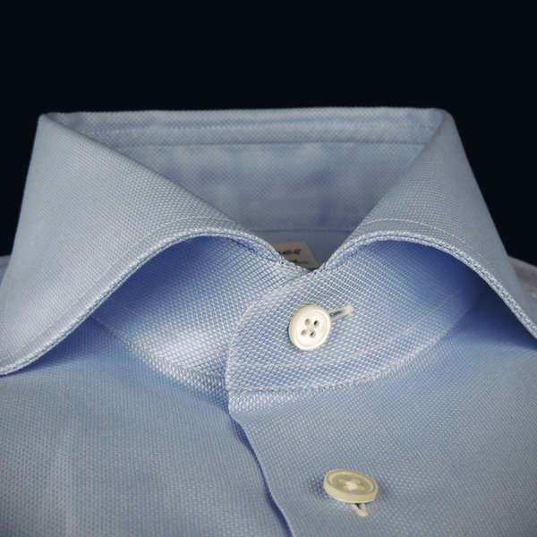 made to measure shirt, Roya Oxford cotton, an spread collar